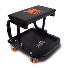 Rolling Creeper Seat Mechanic Stool Chair Garage Work Shop Tools Tray Auto Car