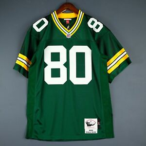 100% Authentic Donald Driver Mitchell Ness 00 Packers NFL Jersey Mens Size 40 M