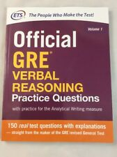 Official GRE Verbal Reasoning Practice Questions NEW