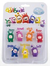 Oddbods Mini Figurine Set BRAND NEW
