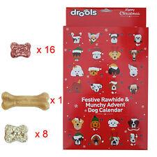 Christmas Advant Calendar Dog Treat Pack Rawhide 25 Pieces Treats for Dogs & Pet