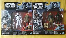 Star Wars double pack action figure sets. Stormtrooper & Commando Pao. Unopened