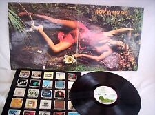 ROXY MUSIC, STRANDED, 1973, MATRIX A1 -B1, COMPANY INNER SL, VERY GOOD CONDITION