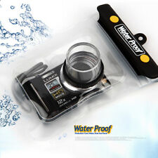 Camera Waterproof Underwater Housing Case Bag for Lumix Pentax Fuji Ixy Ixus