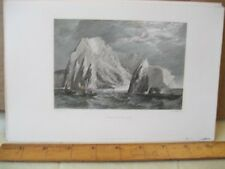 Vintage Print,NEEDLES,Stanfields,English Channel,1836