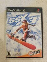SSX 3 Sony PlayStation 2 PS2 - Black Label - Complete VERY GOOD FREE S/H
