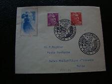 FRANCE - enveloppe 4/11/1950 (cy54) french