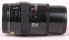 Konica Minolta Maxxum (Sony Alpha) 28-85mm f/3.5-4.5 AF Lens-Caps
