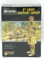 Bolt Action 402211009 8th Army Support Group (British) WWII Desert Rats Infantry