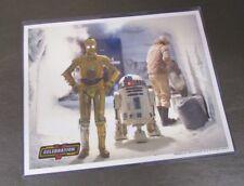 R2-D2 C-3PO Hoth Celebration V STAR WARS 8x10 Licenesed Photo OFFICIAL PIX