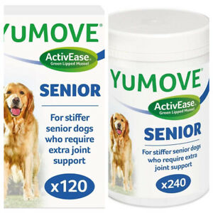 Lintbells YuMOVE SENIOR Dog Joint Supplement for Stiff and Older Dogs Tabs