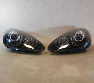 GENUINE PORSCHE CAYENNE 958 Xenon AFS Black edition HEADLIGHT LAMP SET + bulbs