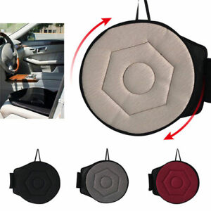 Rotating Seat Cushion Swivel Revolving Mobility Aid for Car Office Home Chair