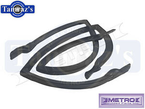 73-77 GM A Body Roof Rail RoofRail Weatherstrip Seals Rear 4 Door Stationwagon