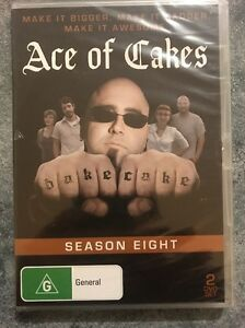 Ace of Cakes - Season 8 - 2 DVD Set- Brand New & Sealed - Fast Free Postage