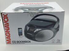 Magnavox New CD Boombox AM/FM Black