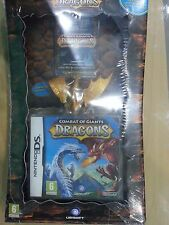 Combat of Giants Dragons + Toy + 15 Cards NEW Nintendo DS Rare