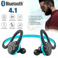 Stereo Noise Cancelling Wireless Bluetooth Earbuds Earphones Headphone Sport Gym