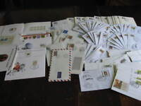 West Germany wholesale hoard 400 postal stationery used 1980s-90s (heavy dupes)