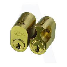 ASEC 6-Pin Scandinavian Oval lock External & Internal Cylinder To Suit Assa-Ruko