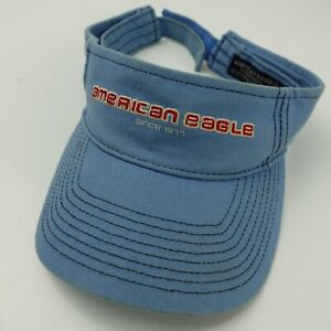 American Eagle Since 1977 Visor Cap Hat Adjustable Adult