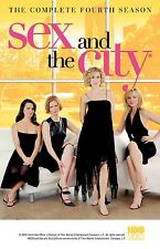 Brand New DVD Sex and the City: The Complete Fourth Season Kim Cattrall Kristin