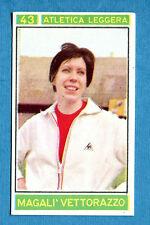 Nuova CAMPIONI DELLO SPORT 1967/68 Figurina/Sticker -n. 43 - M. VETTORAZZO -New