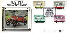 13 OCTOBER 1982 BRITISH MOTOR CARS BENHAM BLS 7 FIRST DAY COVER BROOKLANDS SHS