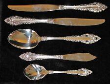 Oneida ROYAL GRANDEUR 5 Assorted Pieces Silverplate
