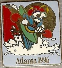 1996 Atlanta Izzy Olympic Canoe-Kayak Whitewater Sports Pin