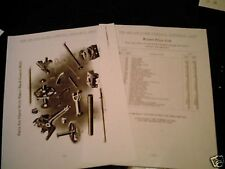 Heller-Aller Windmill Parts List, Open Back Geared