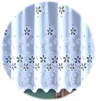 Kitchen Curtain Cafe Net Curtain Lace  Drop Sold by the metre