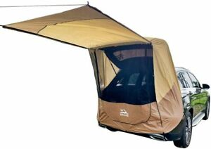 Tailgate Shade Awning Tent for Car Travel Small to Mid Size SUV Waterproof
