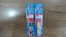 2 X Oral-B Stages Power, Battery Powered Toothbrush. Disney Cars and Princess.