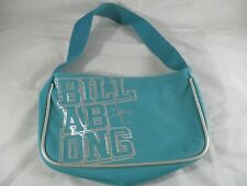 Billabong Teal and silver lettering Clutch Bag 6265146 Made in China