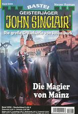 JOHN SINCLAIR Nr. 2206 - Die Magier von Mainz - Simon Borner - NEU