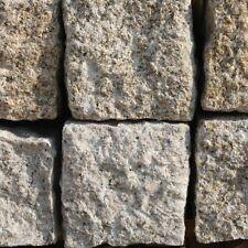 Naturstein Palisade Granit gelb gespitzt ca.50x12x12cm