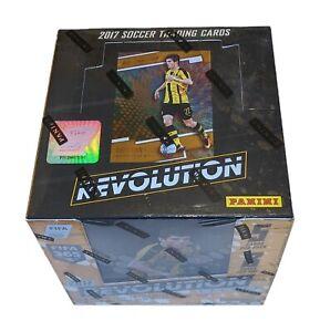 Factory Sealed 8 Pack Hobby Box 2017 Panini Revolution Soccer Cards