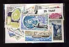 Terres Australes et Antarctiques Françaises TAAF 25 timbres différents