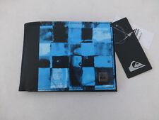 Quiksilver Bi-fold Wallet Bqs6 Slim Black Long PU Zip Coin Wallets