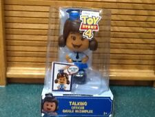 DISNEY TOY STORY 4 TALKING OFFICER GIGGLE McDIMPLES 20+ SOUNDS 3 FACES mint new