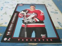 1994-95 Post Cereal Proof,GEOFF COURTNALL VANCOUVER CANUCKS