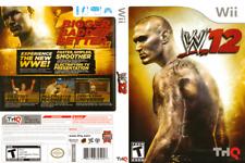 WWE '12 (Nintendo Wii, 2011) - Complete