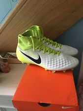 Nike Magista Fly Knit Football  Moulded Stud Sock Boots - Size 10