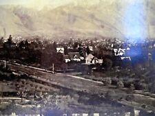 C 1880S 3 ALBUMEN PHOTOS SLC BY SAVAGE ? SAN GABRIEL MISSION SANTA BARBARA ADOBE
