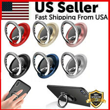 Finger Ring Holder Stand Grip 360 Rotating For Cell Phone Car Magnetic Mount