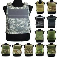 Adjustable Outdoor Lightweight Tactical Vest Hunting Paintball Plate Carrier