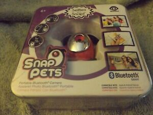 Snap Pets Portable Bluetooth Camera Selfies In A Flash Brand New Sealed