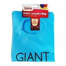 Giant Laundry Bag Basket Handles Foldable Washing Clothes Storage Bin