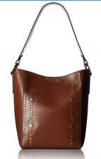 NWT Frye DB479 Harness Stud Bucket Bag (Rust)